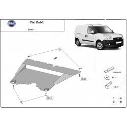 Fiat Doblo Cover under the engine - Metal sheet