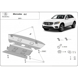 Mercedes GLC Cover under the engine - Metal sheet