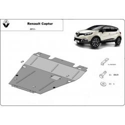 Renault Captur Cover under the engine - Metal sheet
