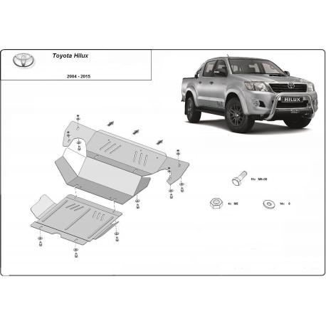Toyota Hilux III Kryt pod motor - plech