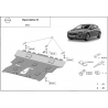 Opel Astra K Cover under the engine - Metal sheet