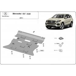 Mercedes GLE X166 Kryt pod motor - plech