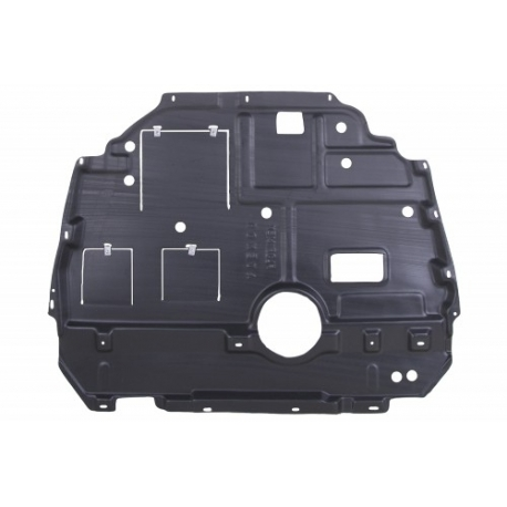 Toyota Avensis Cover under the engine - Plastic (A51410-02120)