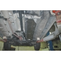 Dacia Duster (Cover the fuel line) 4x4 Model - Metal sheet