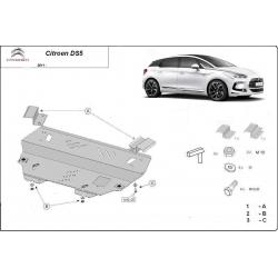 Citroen DS5 Unterfahrschutz - Stahl