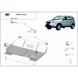 Subaru Justy Motorschutz - Stahl