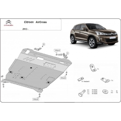 Citroen Aircross (cover under the engine) - Metal sheet