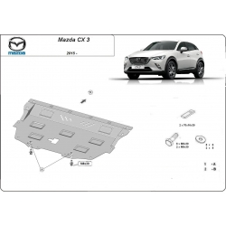 Mazda CX-3 (cover under the engine) - Metal sheet