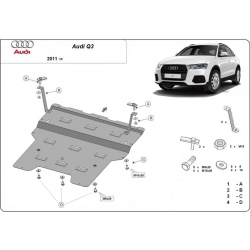 Audi Q3 cover under the engine - Metal sheet
