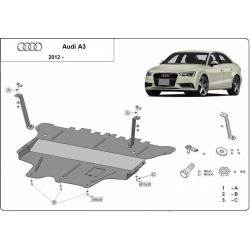 Audi A3 (8V) kryt pod motor - plech