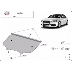Audi A4 Getriebeschutz - Stahl
