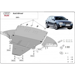 Audi Allroad cover under the engine 2.7, 3.0 - Metal sheet