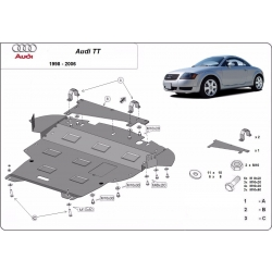 Audi TT cover under the engine - Metal sheet