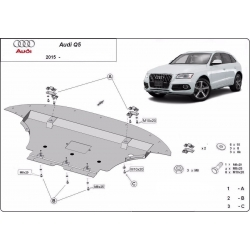 Audi Q5 cover under the engine - Metal sheet