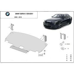 BMW E60 cover under the engine - Metal sheet