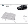 BMW X3 cover under the engine - Metal sheet