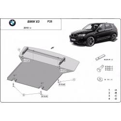 BMW X3 Motorschutz - Stahl