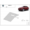 BMW X6 Cover under the gearbox - Metal sheet