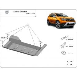 Dacia Duster Abdeckung unter EGR-System, STOP & GO-System - Stahl