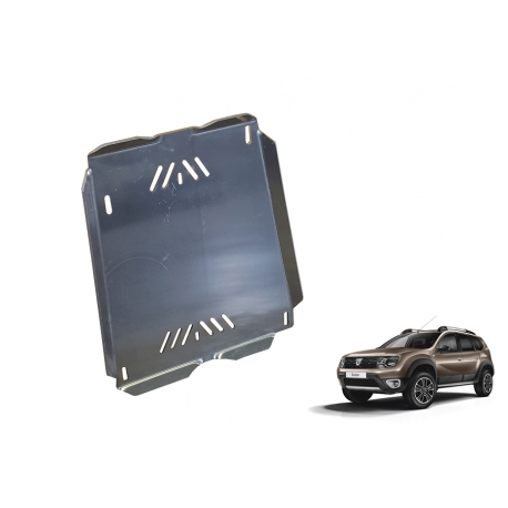 Dacia Duster Cover under the fuel tank – Aluminium