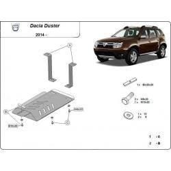 Dacia Duster 4x4 kryt pod zadní diferenciál - plech