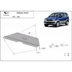 Daihatsu Terios Cover under the gearbox - Metal sheet