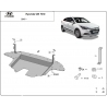 Hyundai i20 cover under the engine - Metal sheet