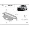 Hyundai Kona Unterfahrschutz - Stahl