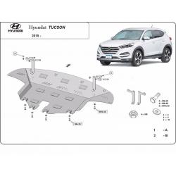 Hyundai Tucson Motorschutz - Stahl