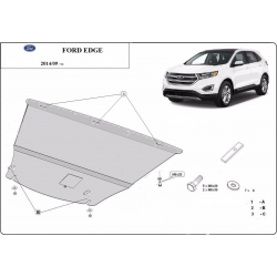 Ford Edge cover under the engine - Metal sheet