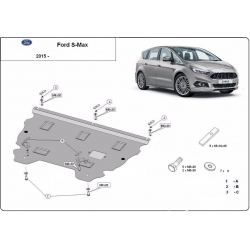 Ford S-Max cover under the engine - Metal sheet