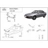 Daewoo Espero cover under the engine - Metal sheet