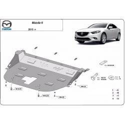 Mazda 6 Motorschutz - Stahl