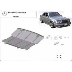 Mercedes E-Classe W124 Unterfahrschutz - Stahl