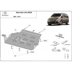 Mercedes Viano W639 Getriebeschutz 2.2 D - Stahl