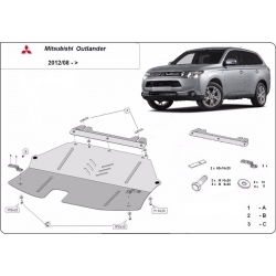 Mitsubishi Outlander cover under the engine - Metal sheet