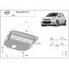 Nissan Micra Unterfahrschutz - Stahl