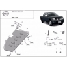 Nissan Navara D40 Cover under the fuel tank - Metal sheet