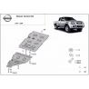Nissan Navara D22 Cover under the gearbox - Metal sheet