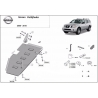 Nissan Pathfinder D40 Cover under the fuel tank - Metal sheet