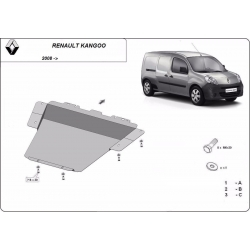 Renault Kangoo cover under the engine - Metal sheet