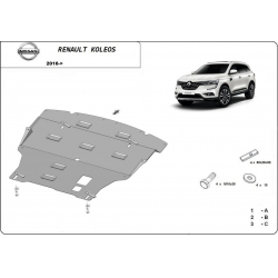 Renault Koleos cover under the engine - Metal sheet