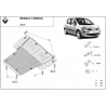 Renault Modus cover under the engine - Metal sheet