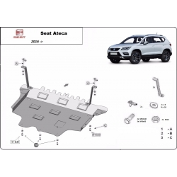 Seat Ateca cover under the engine - Metal sheet