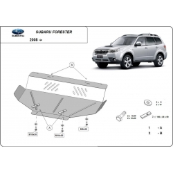 Subaru Forester 3 cover under the engine - Metal sheet
