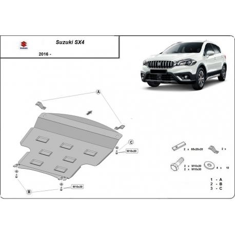 Suzuki SX4 cover under the engine - Metal sheet