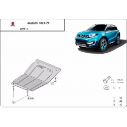 Suzuki Vitara cover under the engine - Metal sheet