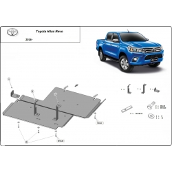 Toyota Hilux Revo cover under differential - Metal sheet