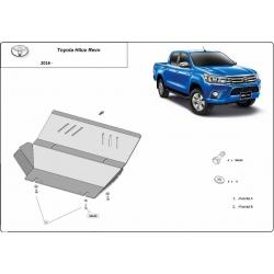Toyota Hilux Revo Abdeckung unter Kühler - Stahl