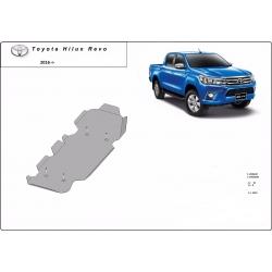 Toyota Hilux Revo Abdeckung unter dem Kraftstofftank - Stahl